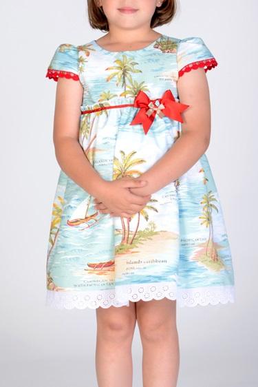 vestido Hawai Niña Piccola Lucía