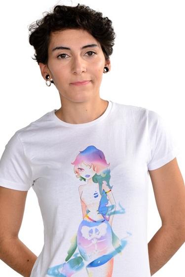 Camiseta Sirena colección Anime fantasioso by piccola lucía