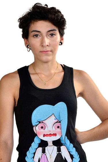 Camiseta Retrato colección Anime fantasioso by piccola lucía
